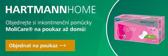 HARTMANN HOME - pomůcky na předpis - MoliCare Lady vložky pro ženy