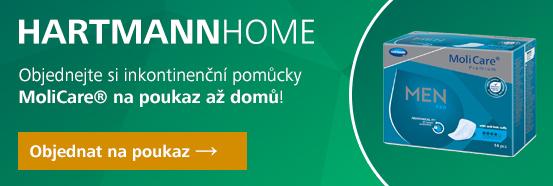 HARTMANN HOME - pomůcky na předpis - MoliCare Men vložky pro muže