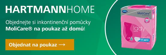 HARTMANN HOME - pomůcky na předpis - MoliCare Lady Pants 7 kapek