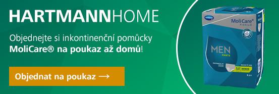 HARTMANN HOME - pomůcky na předpis - MoliCare Men Pants 5 kapek