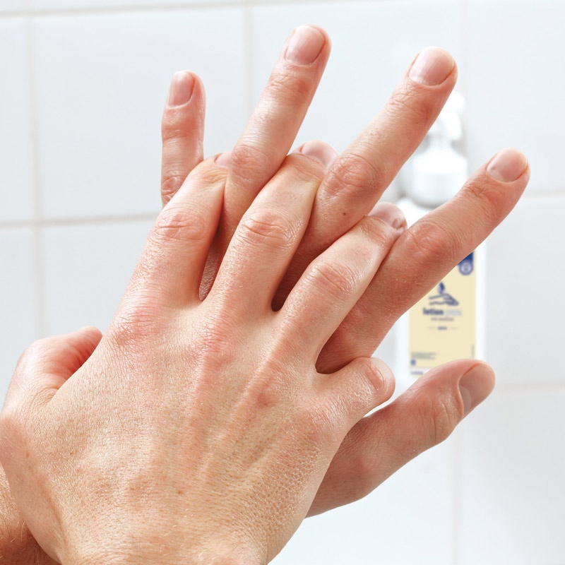 Použítí přípravku Baktolan lotion pure