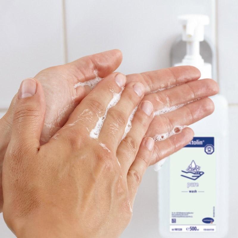 Použití přípravku Baktolin pure