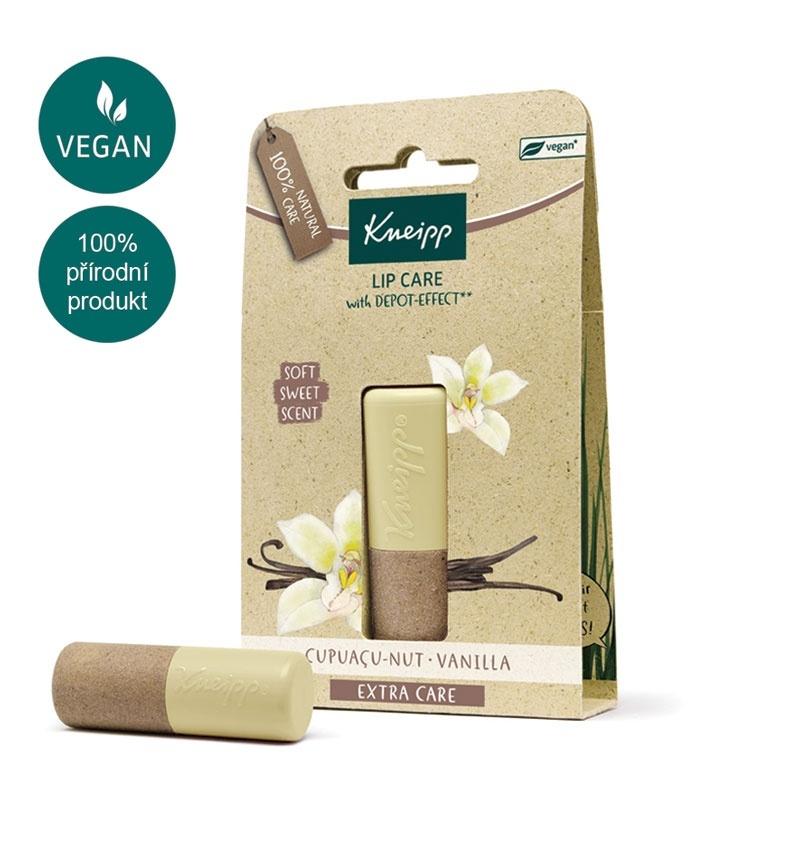 Přírodní balzám na rty Kneipp s vanilkovou vůní
