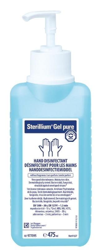 Dezinfekce na ruce Sterillium Gel pure učinná proti koronaviru