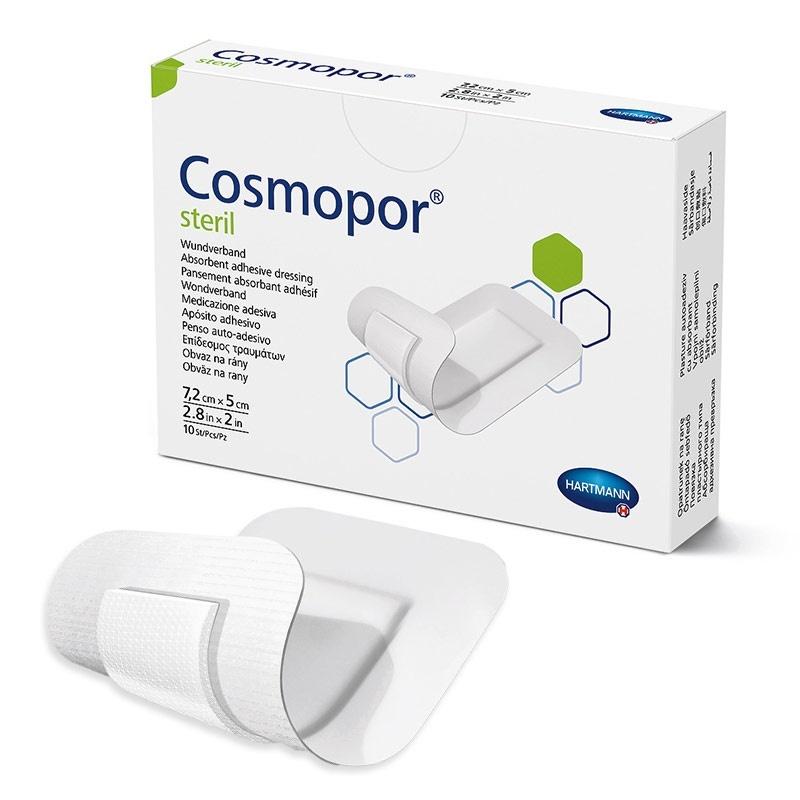 Náplast Cosmopor Steril 7,2 x 5 cm