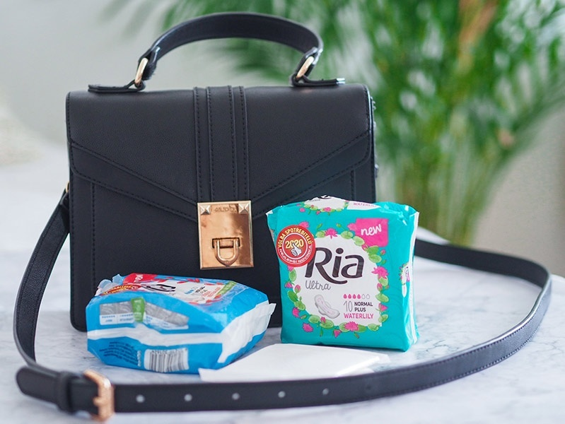 Ultratenké menstruační vložky Ria Ultra
