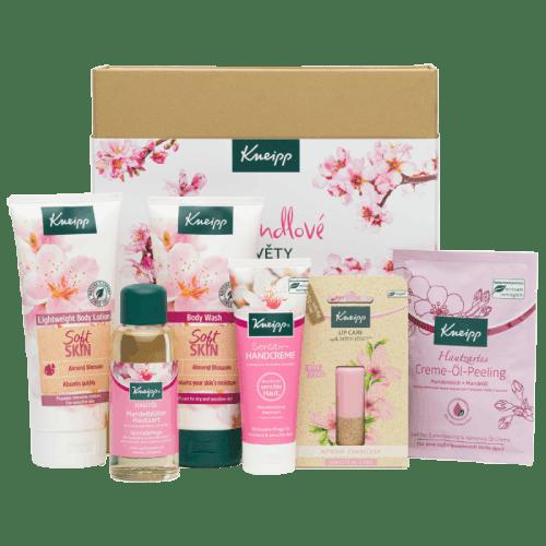 Kneipp dárková sada produktů z kolekce Mandlové květy