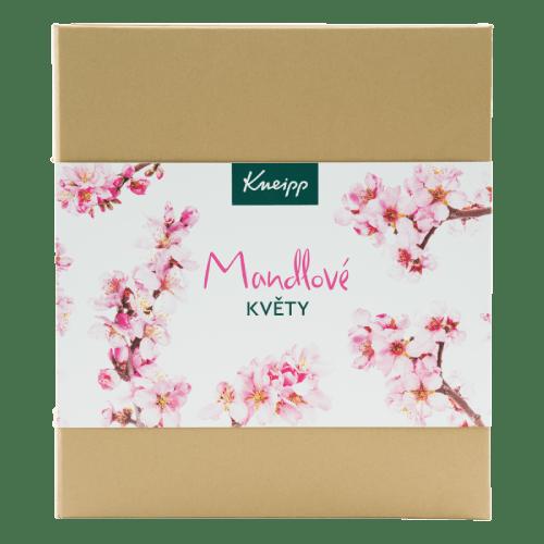 Dárková sada obsahující produkty z kolekce Mandlové květy