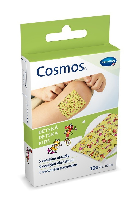 Dětská náplast Cosmos 6 cm × 1 m