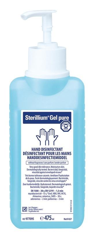 Dezinfekce na ruce s virucidním účinkem s pumpičkou