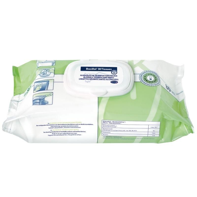 Dezinfekční ubrousky Bacillol 30 Tissues balení 80 ks