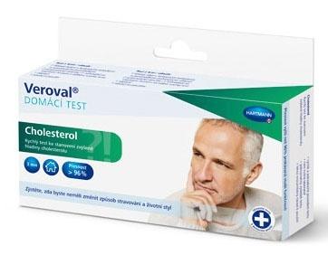 Rychlý test na zjištění hladiny cholesterolu