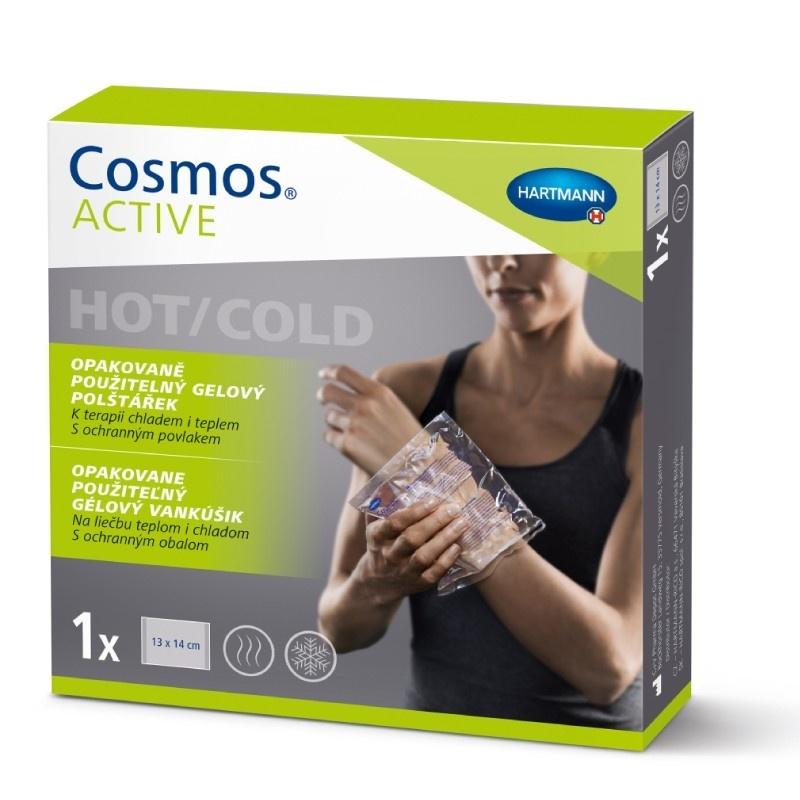 Opakovaně použitelný gelový polštářek COSMOS Active 13 × 14 cm
