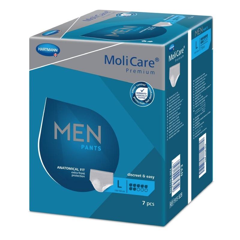 Pánské inkontinenční kalhotky MoliCare Men Pants 7 kapek velikost L