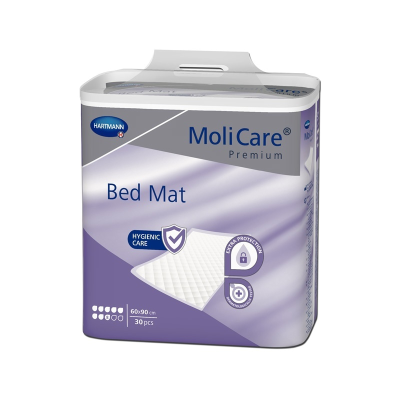 Absorpční podložky MoliCare Bed Mat 8 kapek 60 x 90 cm