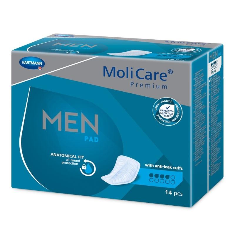 Pánské inkontinenční vložky MoliCare Premium Men 4 kapky (Protect)