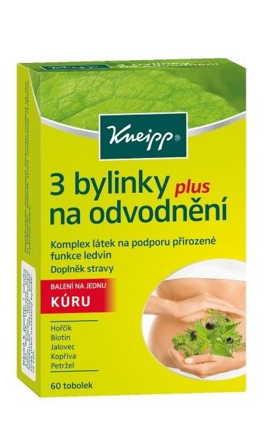 Doplněk stravy na odvndnění organismu Kneipp