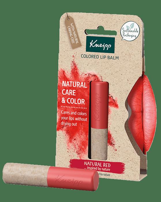 Kneipp balzám na rty Natural Red