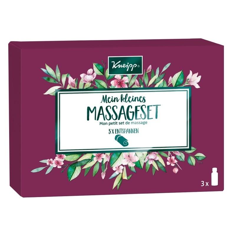 Kneipp dárková sada tří masážních olejů - Mandlové květy, Staré dobré časy a Ylang-ylang