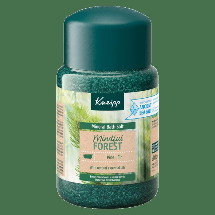 Koupelová sůl Kneipp Mindful forest 500 g s vůní lesa