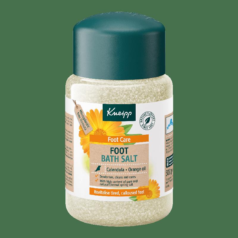 Kneipp Sůl do koupele Péče o nohy s výtažkem z měsíčku lékařského