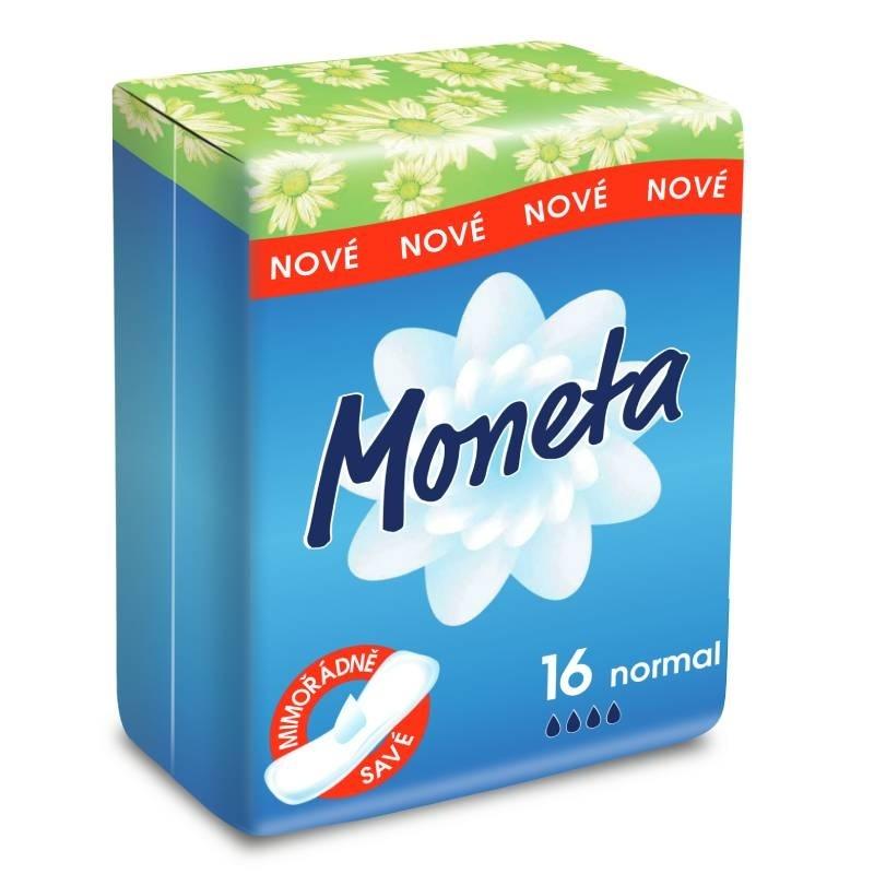 Menstruační vložky Moneta Normal pro normální menstruaci