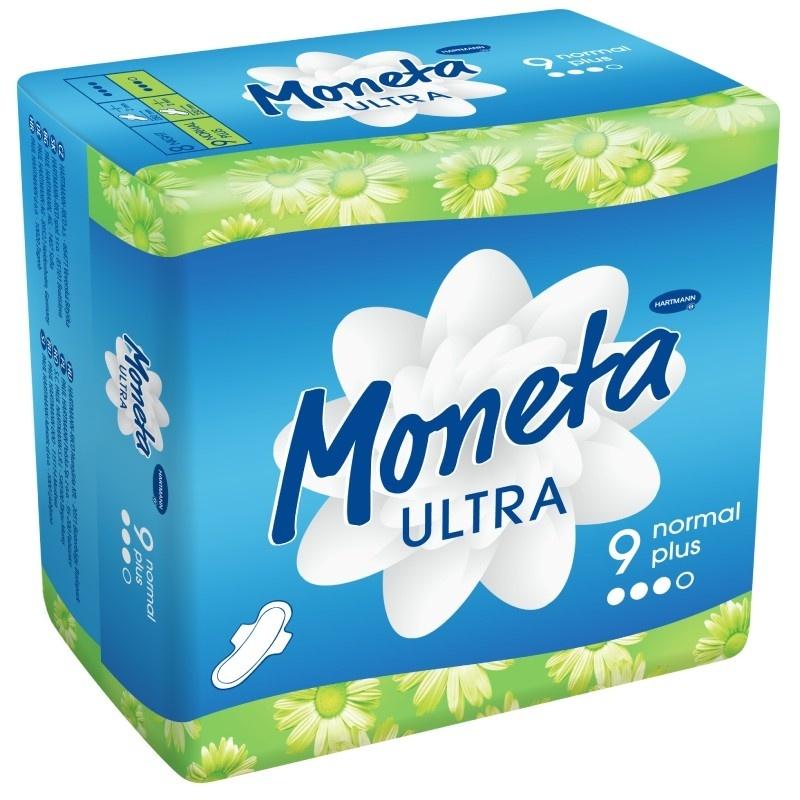 Dámské menstruační vložky Moneta Ultra Normal Plus
