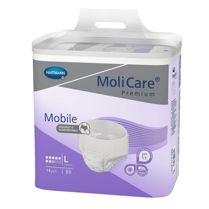 Natahovací kalhotky MoliCare Mobile 8 kapek velikost L