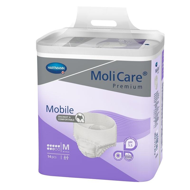 Natahovací kalhotky MoliCare Mobile 8 kapek velikost M