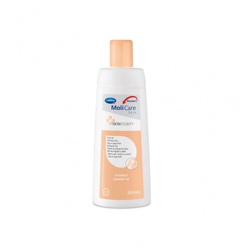 Ošetřující olej MoliCare Skin s obsahem přírodních olejů a vitaminu E