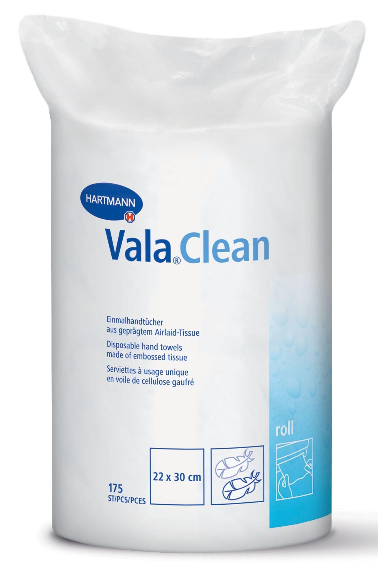 ValaClean Roll ručníky 22 × 30 cm 175 ks