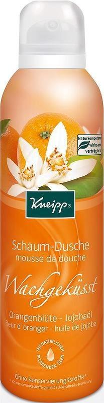 Sprchová pěna Kneipp Ranní polibek s vůní pomerančového květu 200 ml