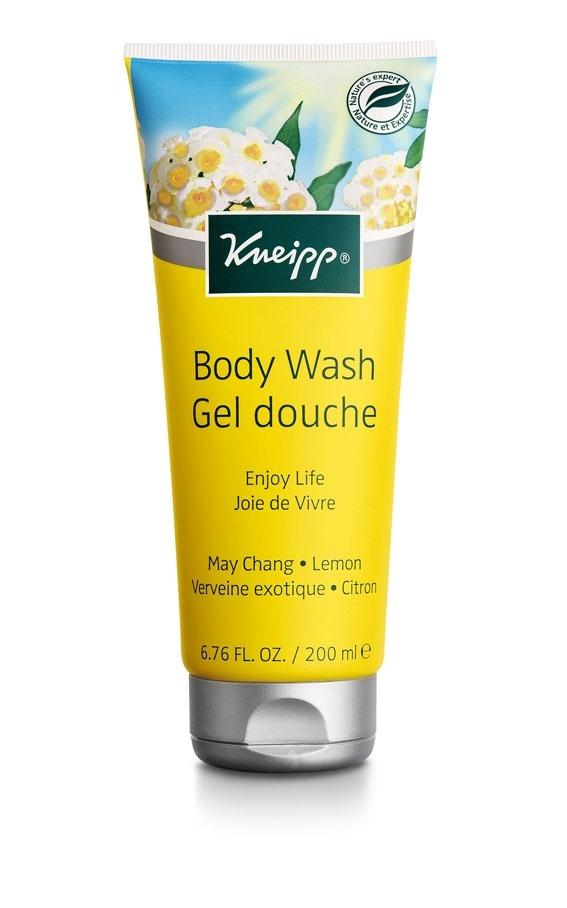 Sprchový gel Kneipp Radost ze života (Litsea Cubeba) se svěží vůní citrusů 200 ml