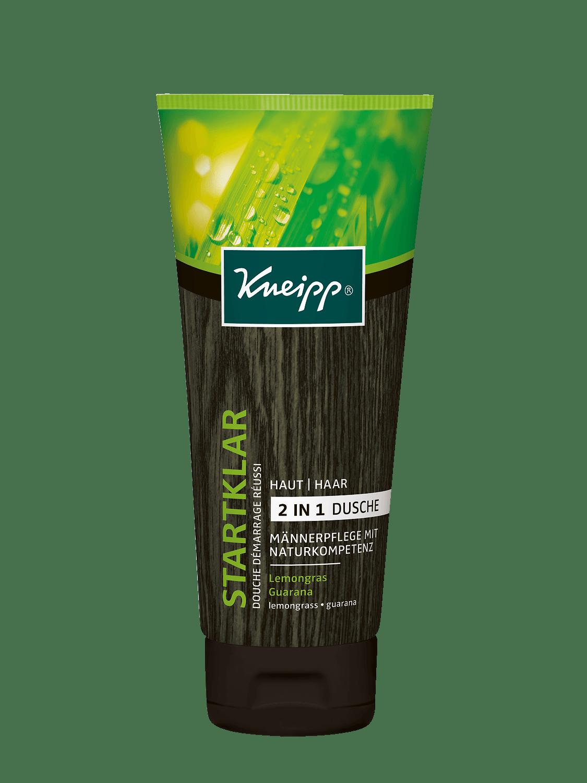 Pánský sprchový gel Kneipp Ranní budíček 2v1 s výtažky z citrónové trávy a guarany