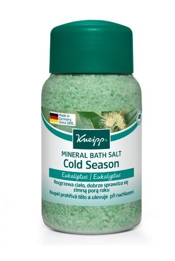 Sůl do koupele Kneipp Nachlazení z výtažků eukalyptu 500 g