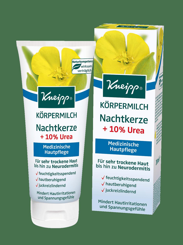 Tělové mléko Kneipp Pupalka s panthenolem 200 ml