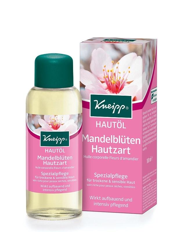 Tělový olej Kneipp Mandlové květy z přírodního mandlového a slunečnicového oleje