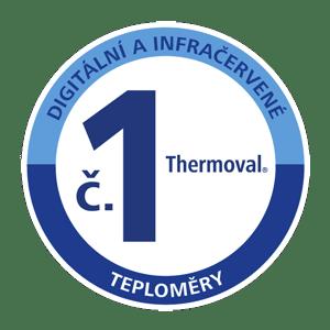 Značka Thermoval číslo 1 mezi digitálními a infračervenými teploměry