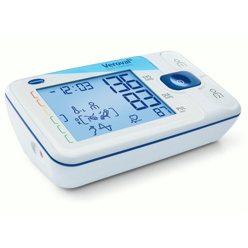 Pažní tlakoměr Veroval duo control pro automatické měření srdečního tlaku a tepu