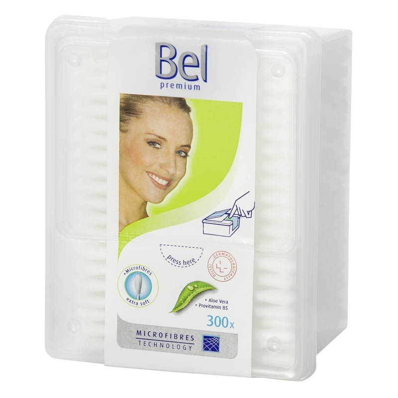 Vatové tyčinky s Aloe Vera a panthenolem Bel Premium