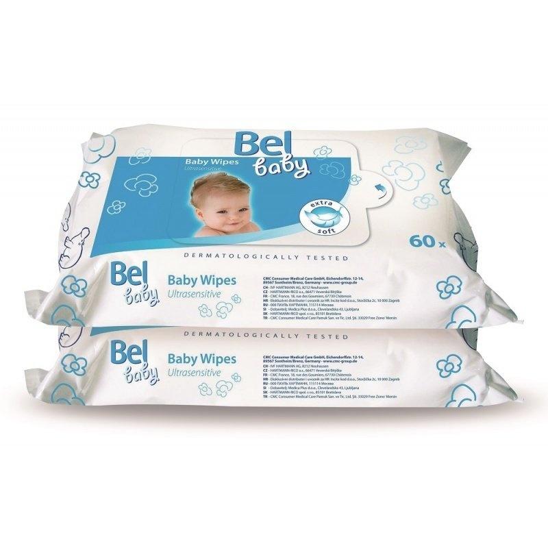 Vlhké ubrousky pro jemnou péči o vaše miminko duopack